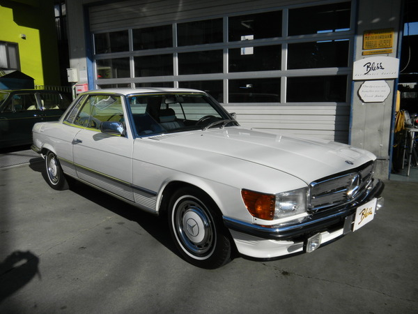 Mercedes Benz380SLC D車