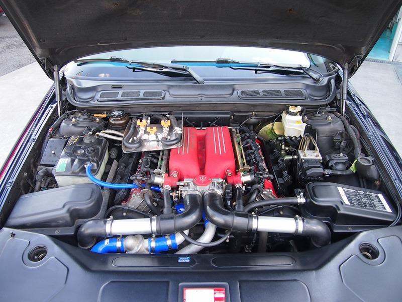 MASERATI Quattroporte V8evoluzione 6MTのサムネイル